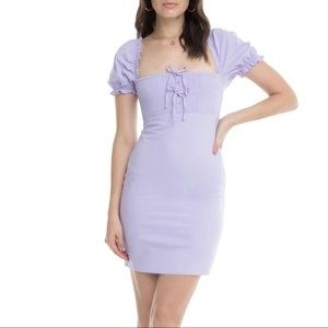NWT ASTR The Label Cottagecore Lavender Bea Dress